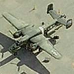 """Tondelayo"" B-25 Mitchell 44-28942 at Vandenberg Airport (Birds Eye)"