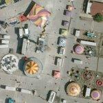 Illinois State Fair in progress (Bing Maps)
