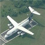 BAE Systems Avro 146 on static display (Birds Eye)