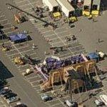 Filming in a Warner Brothers parking lot (removed) (Birds Eye)