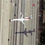Landing at LAX (Birds Eye)