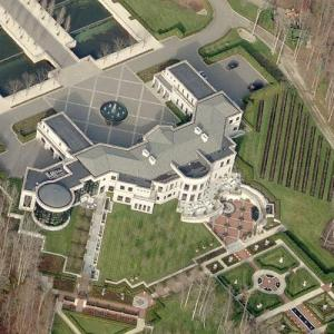 Vernon Hill's Mega Mansion (Bing Maps)