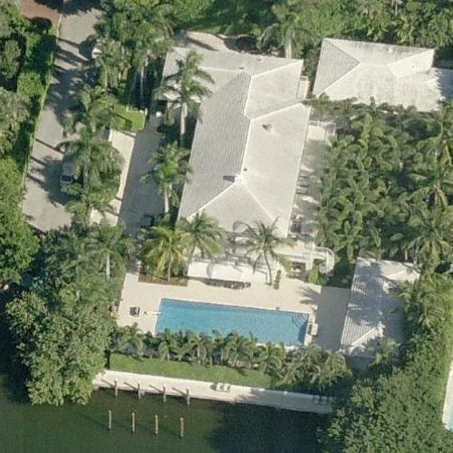 Jeffrey Epstein's house (Birds Eye)