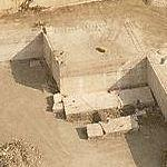 Travertine quarries (Bing Maps)