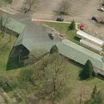 'Unitarian Meeting House' by Frank Lloyd Wright (Birds Eye)