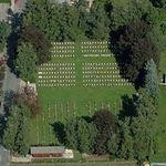 Commonwealth War Cemetery (Birds Eye)