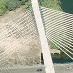 Ponte da Rainha Santa Isabel (Birds Eye)