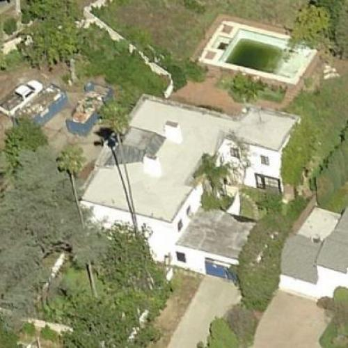 Liza Minnelli's Childhood Home in Beverly Hills, CA (Google