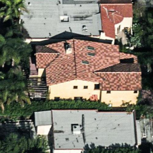 Michael Schur's House (Birds Eye)