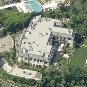 Mohamed Hadid's house (Birds Eye)