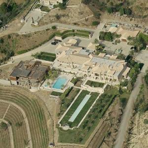 Jeff Greene's House (Bing Maps)