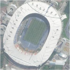 Estádio Olímpico João Havelange 'Engenhão' (Bing Maps)