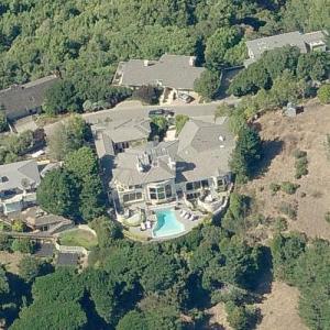 Lars Ulrich's House (Bing Maps)