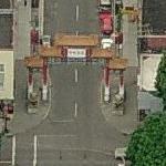 Portland Chinatown Gate (Birds Eye)