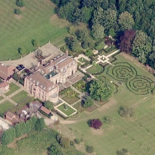 Beckham's Castle (Beckingam Palace) (Birds Eye)