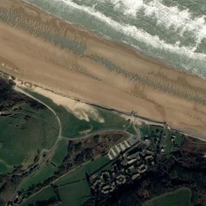 Omaha Beach (Bing Maps)