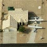 Home with private planes at Sun Valley Airport (A20) (Birds Eye)