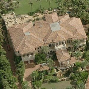 Christopher Cline's house (Birds Eye)