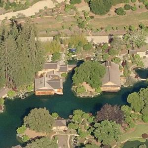 Larry Ellison's estate (Bing Maps)
