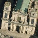 Montauban Cathedral (Birds Eye)