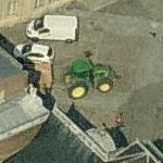 John Deere tractor (Birds Eye)