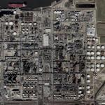 Shell Deer Park refinery (Bing Maps)