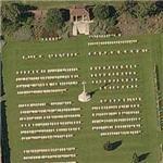 Les Baraques Military Cemetery (Birds Eye)