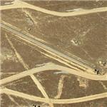 Unusual short rail segments on Eglin AFB (Birds Eye)