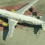 Special paint scheme to MTV (Airbus A320) (Birds Eye)