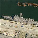 USS Underwood (FFG-36) (Birds Eye)