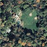 President's bungalow at Camp David (Bing Maps)