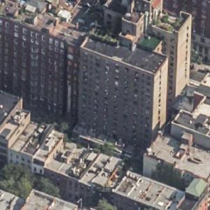 Sid Vicious / Nancy Spungen Murder Site (Birds Eye)