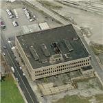 Abandoned Detroit Public Schools Book Depository (Birds Eye)