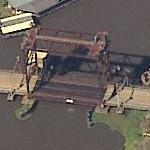 Boeuf Bayou Vertical Lift Bridge (Birds Eye)