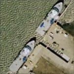 Space Shuttle Solid Rocket Booster Retrieval Ships (Bing Maps)