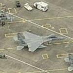 F-15s at Portland Airport (Bing Maps)