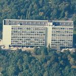 'Unité d'Habitation' by Le Corbusier (Birds Eye)