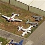 Collection of old aircraft (Birds Eye)