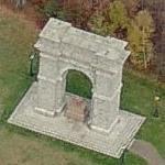 Memorial Arch of Tilton (Birds Eye)