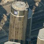 Renaissance Center (tallest building in Michigan) (Birds Eye)