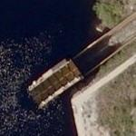 Big Chute Marine Railway (ship lift / lock) (Bing Maps)