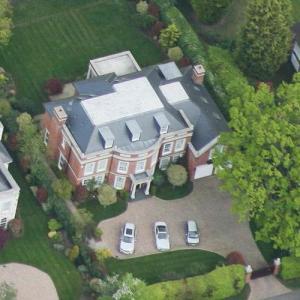 Ashley & Cheryl Cole's House (former) (Birds Eye)