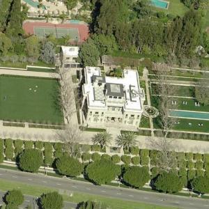Stewart & Lynda Resnick's House (Bing Maps)