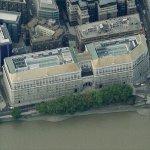 Thames House - MI5 Headquarters (Birds Eye)
