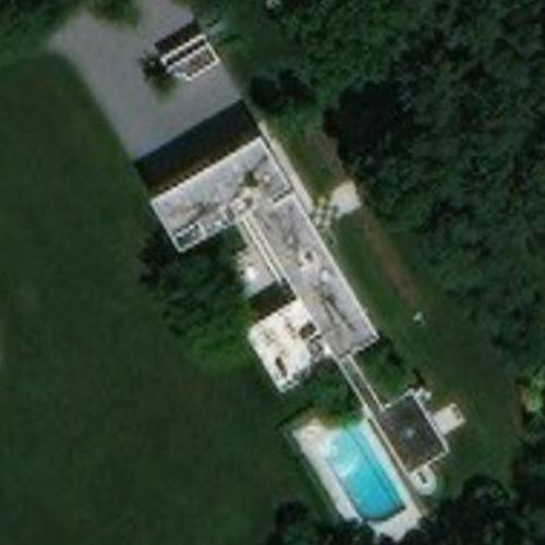 'Weinstein House' by Richard Meier (Birds Eye)
