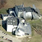 'Fisher Center' by Frank Gehry (Birds Eye)
