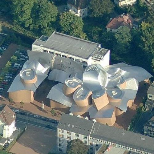 'MARTa Herford' by Frank Gehry (Birds Eye)