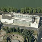 'Ara Pacis Museum' by Richard Meier (Birds Eye)