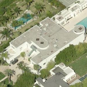 Jackie Collins' House (former) (Bing Maps)