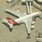 Qantas Airbus A380 SuperJumbo (Birds Eye)
